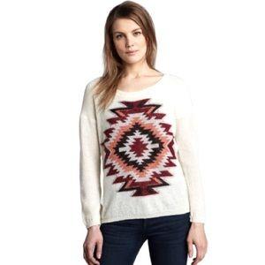 Maison Scotch Aztec Tribal Sweater